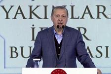Cumhurbaşkanı Erdoğan şehit aileleri ve gazilerle iftarda buluştu