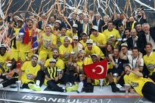 Fenerbahçe'nin THY Avrupa Ligi kupası anıtlaştırılacak