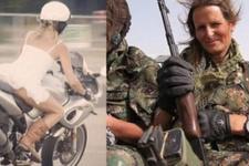 YPG'ye katılan Kanadalı manken Kobani'de ortaya çıktı!
