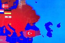 Barcelona'nın Türkiye haritası paylaşımına tepki yağdı!