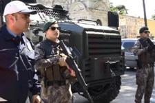 İstanbul'da 1500 polisle dev operasyon giriş ve çıkışlar tuttuldu