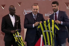 Cumhurbaşkanı Erdoğan'a sürpriz hediye