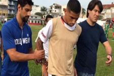 21 yaşındaki oyuncu maç esnasında tutuklandı