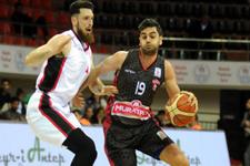 Gaziantep Basketbol 20 sayı fark attı