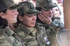 Şehit Yarbay Songül Yakut'u binlerce kişi uğurladı