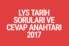 LYS Tarih soruları ve cevapları 2017 ÖSYM ais
