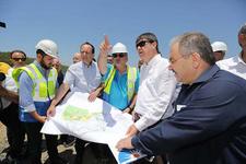 Başkan Türel Alanya'da yatırım turuna çıktı