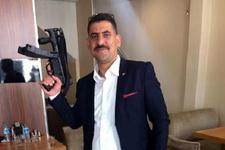 AK Partili isim MP5 ile poz verdi! Vahim bir de not var