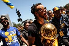 Golden State Warriors şampiyonluğu kutladı