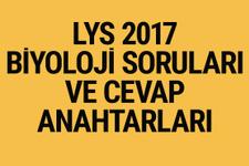 LYS Biyoloji soruları ve cevapları 2017 ÖSYM ais