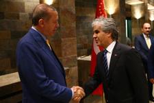 Erdoğan medya temsilcileriyle iftarda buluştu