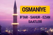Osmaniye iftar saati imsak vakti ve ezan saatleri