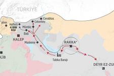 Arap ve Türkmen aşiretlerinden Rakka isyanı