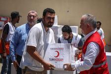 Türk Kızılayından Gazze'ye yardım eli
