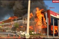 AVM'de 8 milyonluk yangın!