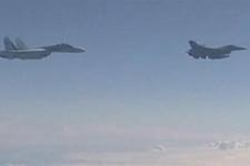 ABD ve Rus uçaklarının tehlikeli yakınlaşmasına ilişkin ilk görüntüler!
