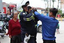 11 yaşındaki çocuk sürücü polise zor anlar yaşattı!