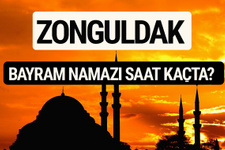 Zonguldak bayram namazı saat kaçta 2017 saati