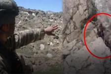 TSK Herekol dağındaki operasyonun görüntülerini paylaştı