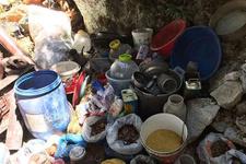 Karadeniz'de PKK'nın mağarası tespit edildi