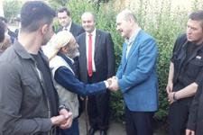 İçişleri Bakanı Soylu bayram namazını Çukurca'da kıldı