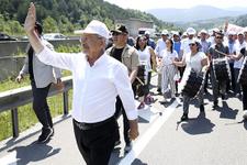 Silivri'den çıkan askerler Adalet Yürüyüşü için birbirine girdi!