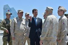 Esad'ın son fotoğrafları olay ABD'ye gözdağı verdi