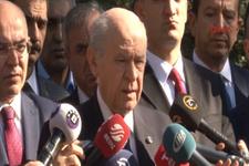 Bahçeli açıkladı AK Parti'ye tam destek yok!