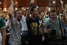 Bursa'da ligde kalma sevinci