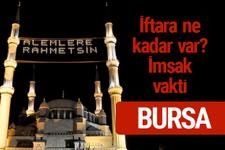 Bursa iftar saatleri 2017 sahur ezan imsak vakti