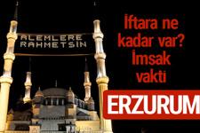Erzurum iftar saatleri 2017 sahur ezan imsak vakti