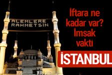 İstanbul iftar saatleri 2017 sahur ezan imsak vakti