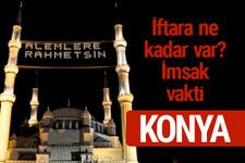 Konya iftar saatleri 2017 sahur ezan imsak vakti