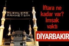 Diyarbakır iftar saatleri 2017 sahur ezan imsak vakti