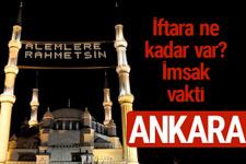 Ankara iftar saatleri 2017 sahur ezan imsak vakti