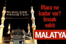 Malatya iftar saatleri 2017 sahur ezan imsak vakti