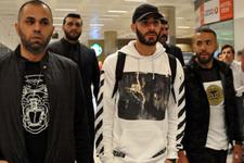 Real Madridli Benzema İstanbul'da