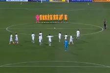 Suudi futbolculardan tartışılan hareket