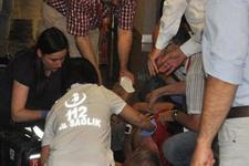 Eskişehirspor kongresinde korku dolu anlar
