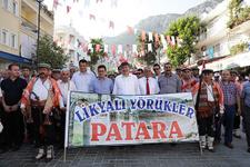 Başkan Türel Kaş Festivali'nde