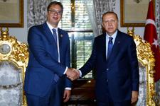 Erdoğan Sırbistan Cumhurbaşkanı Vucic ile görüştü