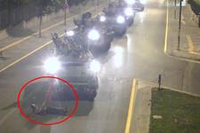 15 Temmuz'da elinde Türk bayrağıyla tek başına direnen Yaşar Yaldız o geceyi anlattı