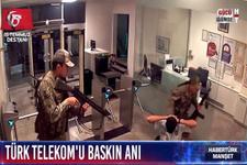 Darbe gecesi Türk Telekom'da yaşananlar (15 Temmuz videoları)