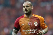 Wesley Sneijder'den Galatasaray'a sürpriz teklif