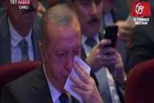 Şehit babasının konuşması Erdoğan'ı gözyaşlarına boğdu