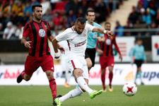 Östersunds-Galatasaray maçından kareler