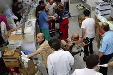 Sağlıkçıların 'vatan nöbeti' ağlattı