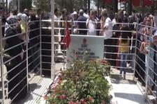 Ömer Halisdemir'in mezarına ziyaretçi akını