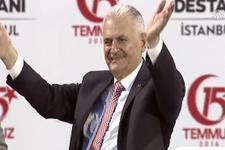 Başbakan Binali Yıldırım FETÖ'cü hainlere meydan okudu