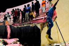 Stadyumun duvarı çöktü! 8 kişi öldü